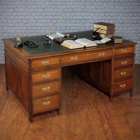Oak Partners Desk  Antiques Atlas. 8 Person Dining Table. Desk Ideas For Office. Wood Desk Hutch. Raise And Lower Desk. Raising Coffee Table. Alex Ikea Desk. Kee Klamp Desk. Desk Configuration Ideas