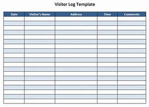 visitor log template pictures With visitors book template free download