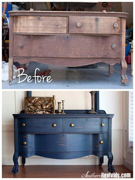 Southern Revivals  Tons Of Amazing Diy Furniture Redos