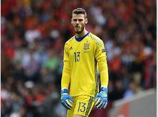 Spain vs Czech Republic David De Gea unflappable despite