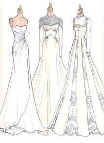 Fashion Dress Drawings Sketches