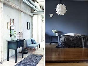 Deco Chambre Ami : deco peinture chambre bleu id es de travaux ~ Melissatoandfro.com Idées de Décoration