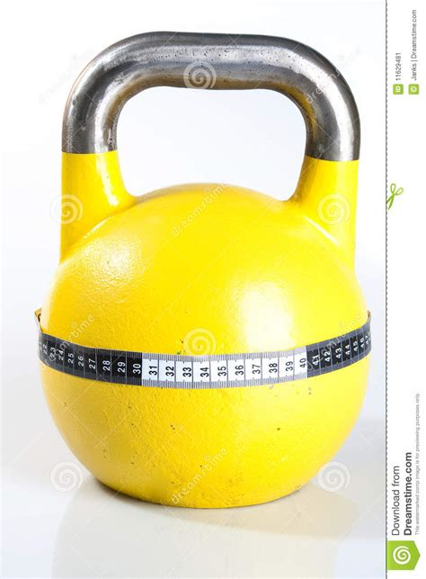 yellow kettlebell pound dumbbell preview