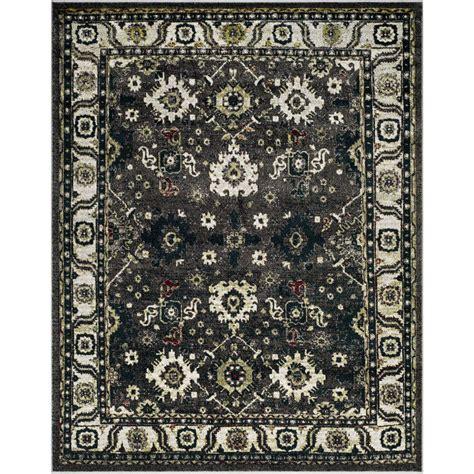 lowes kitchen tile safavieh vintage hamadan gray ivory 4 ft x 6 ft 3889