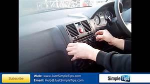 Radio Removal Hyundai Getz  2002-present