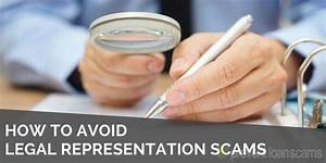 How to Avoid Legal Representation Scams in 2018 | Prevent ...