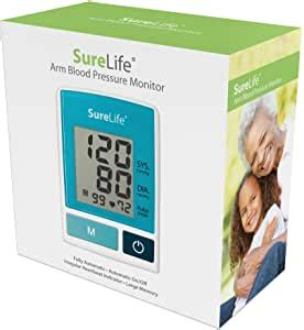 Amazon.com: SureLife Classic Arm Blood Pressure Monitor w