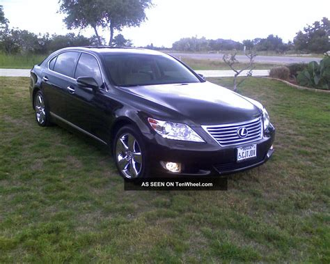 2010 lexus sedans 2010 lexus ls460l sedan 4 door 4 6l purchased with 3yr