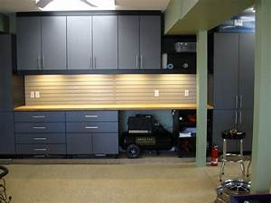 stainless steel garage storage cabinets storage design With kitchen cabinets lowes with metal car wall art