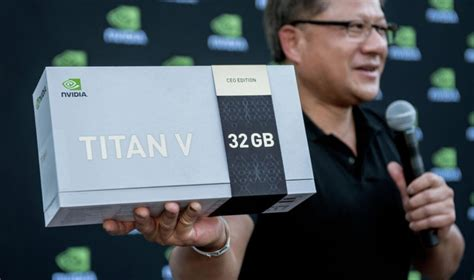NVIDIA's Jensen Huang Gives Away 20 'CEO Edition' TITAN Vs ...