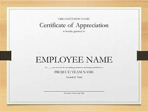 printable word and excel examples With employee certificate of service template
