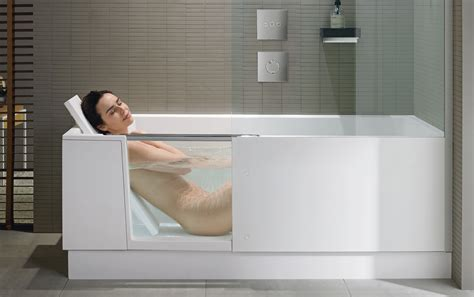 white shelf shower bath duravit