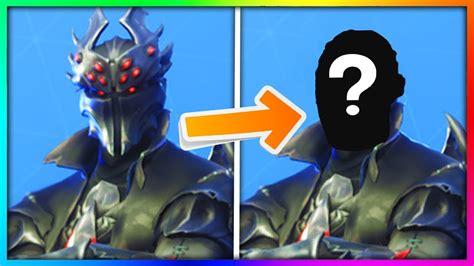 masked fortnite skins face reveals youtube