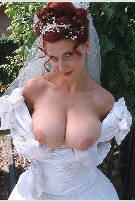 bride naked