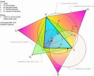Lester Circle Theorem  Triangle  Circumcenter  Nine