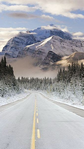 The Icefields Parkway Banff Jasper National Parks Rocky