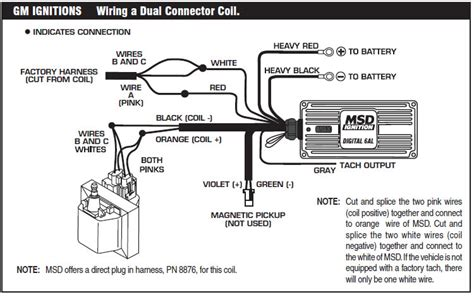 Msd Coil Tach Wiring by How To Install An Msd 6a Digital Ignition Module On Your