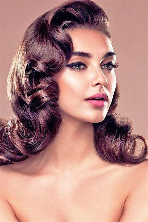 Hairstyle For 50 With Hair by 20 Ideas Of 50s Hairstyles