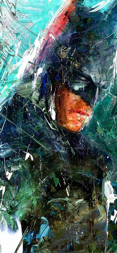 Batman Portrait Iphone Comic