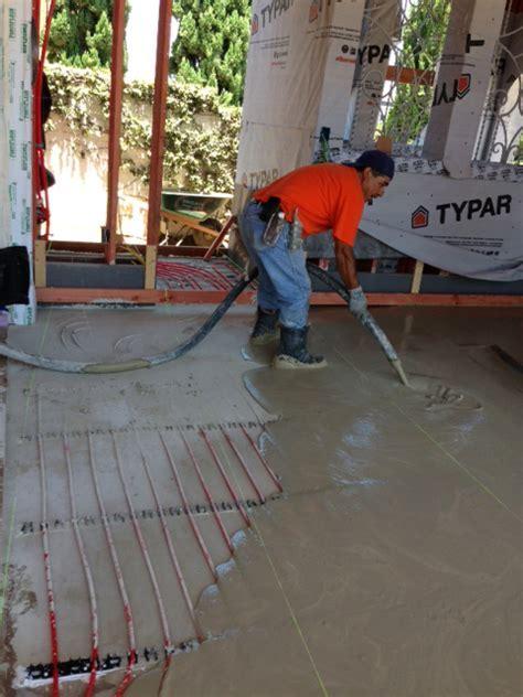 Therma Floor (Gypcrete) Installation Method