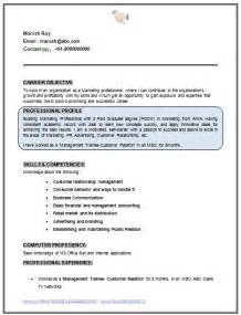 mba marketing resume for experience professional curriculum vitae resume template sle template of mba marketing fresher