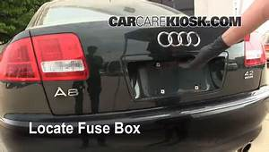 2007 Audi A6 Fuse Diagram : blown fuse check 2004 2010 audi a8 quattro 2004 audi a8 ~ A.2002-acura-tl-radio.info Haus und Dekorationen