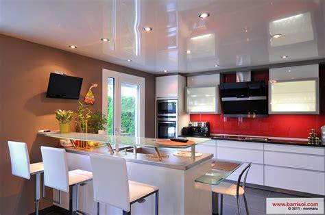 cuisine le plafond tendu barrisol dans votre cuisine