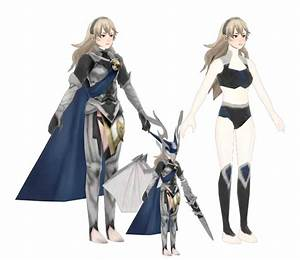 3DS Fire Emblem Warriors Corrin Nohr Princess The