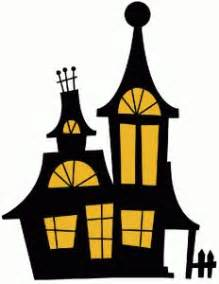 haunted house silhouette    clipartmag