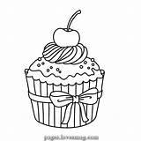 Cupcakes Coloring Kleurplaten Cupcake Kleurplaat Dibujos Colorear Adult Hochzeit Drawing Voor Spiele Kinder Leukvoorkids Tekening Ice Colouring Muffin Leuk Animato sketch template