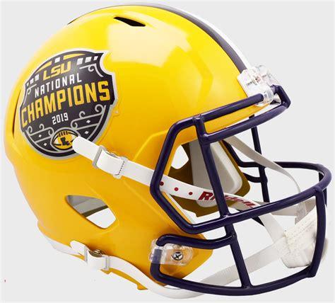 LSU Tigers NCAA 2019 National Champions Replica Speed Full ...
