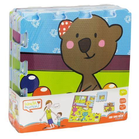 dalle en mousse mon tapis puzzle dalle en mousse 9 pi 232 ces la grande r 233 cr 233 vente de jouets et jeux jouets