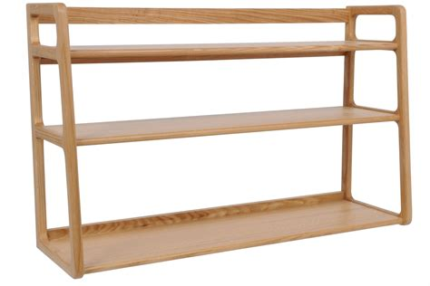 collection  wooden shelving units