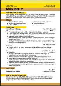 best resume for pdf sle resume format february 2016