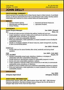 Sample Resume Format February 2016
