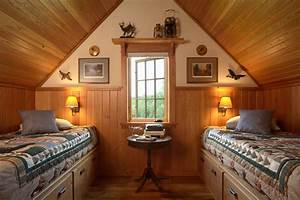 Otter Tail Hunting Lodge - Rustic - Bedroom - minneapolis