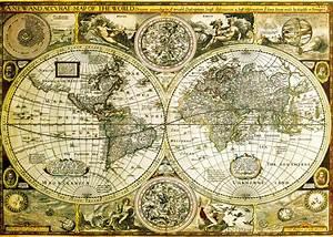 Affiche Carte Du Monde : carte du monde historique poster affiche acheter le sur ~ Dailycaller-alerts.com Idées de Décoration