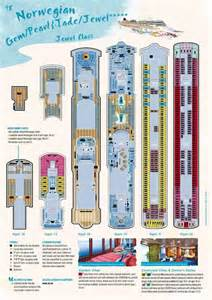 Norwegian Gem Deck Plans