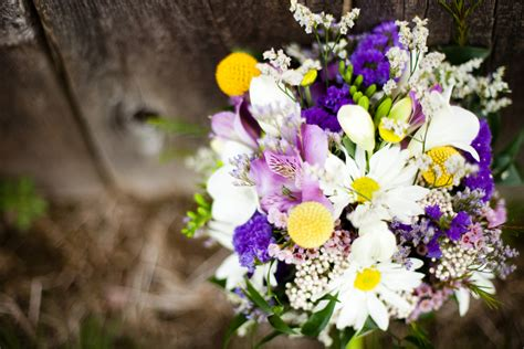 Purple & Yellow Eclectic Spring Wedding  Every Last Detail