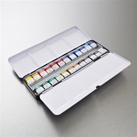 winsor newton professional watercolour set of 24