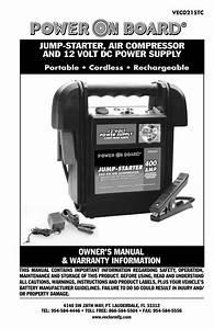 Vector Power On Board Vec021stc User Manual