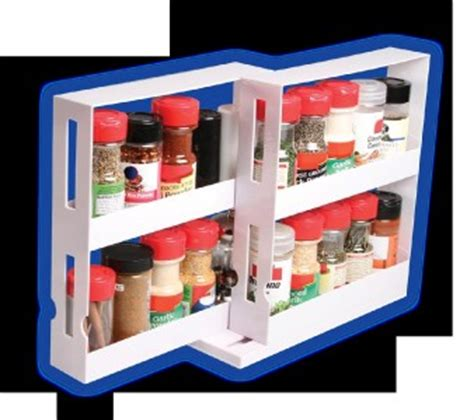 Swivel Store Spice Rack by As Seen On Tv Swivel Store Space Saving Spice Rack Storage