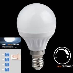 Led Dimmbar E14 : led licht dimmbar ber ihren schalter e14 fassung ~ Markanthonyermac.com Haus und Dekorationen