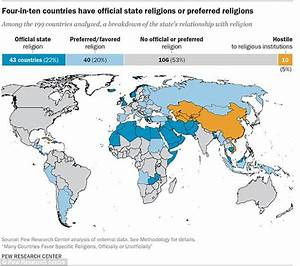 Islam is the most common state-endorsed religion   Daily ...