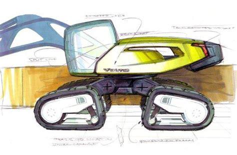 volvo concept    excavator   future