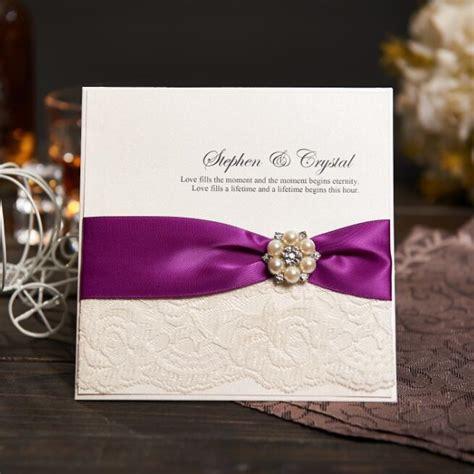 Aliexpress com : Buy Vintage Lace Wedding Invitations Card