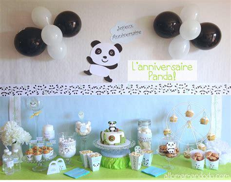 fiches cuisine anniversaire panda allo maman dodo