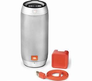 JBL Pulse 2 Portable Wireless Speaker - Silver Deals   PC ...