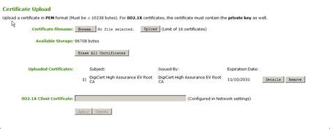 ca certificate format renashinestarco