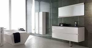 les tendances salle de bains 2013 a voir With good couleur de meuble tendance 1 une douche tendance loft leroy merlin